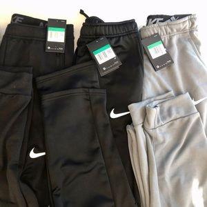 3 Nike Dri-Fit Joggers Youth Boys size XL
